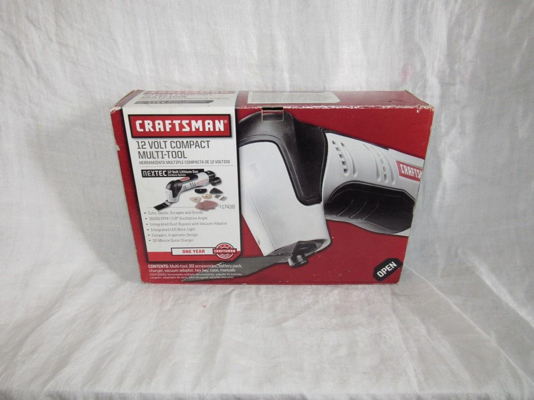 Craftsman 12 Volt Compact Multi Tool Battery Operated