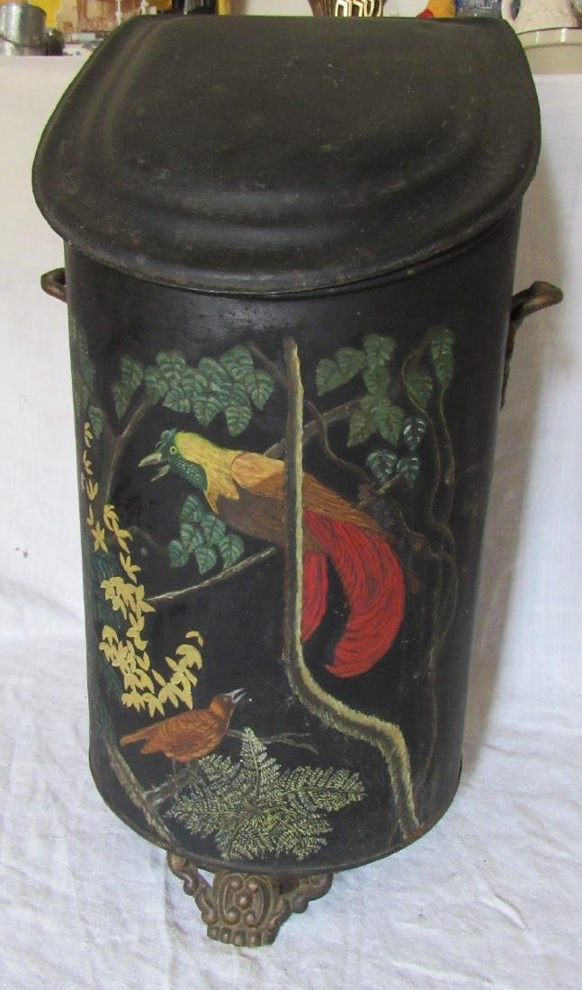 Tin Toleware Wood Box