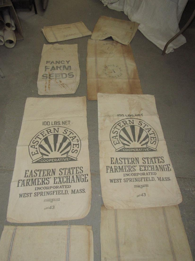 9 Farm Feed & Seed Bags Fancy Farm Eastern States