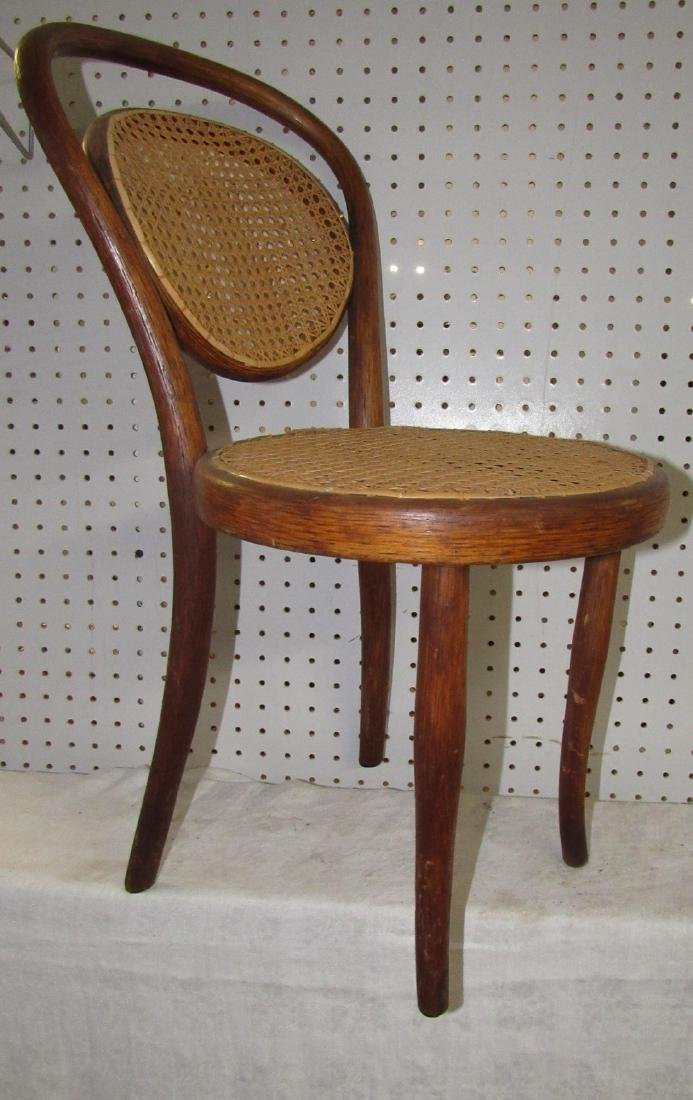 Bentwood Cane Seat Childs Chair