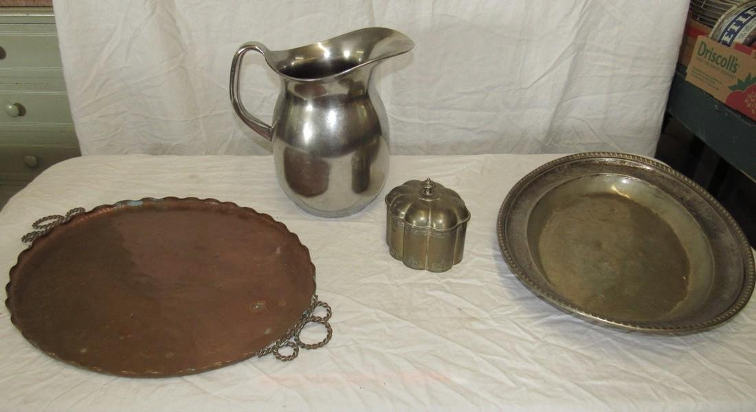 Copper Vermont 607 Tray Stainless Steel Pitcher