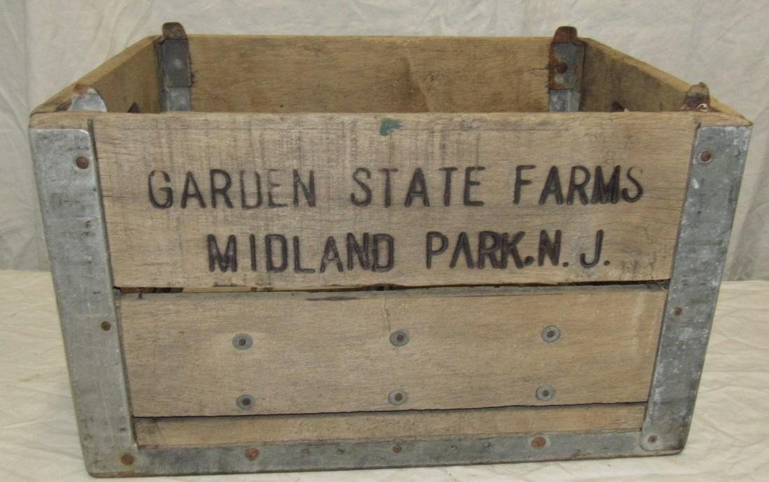 Garden State Farms Midland Park NJ Milk Crate