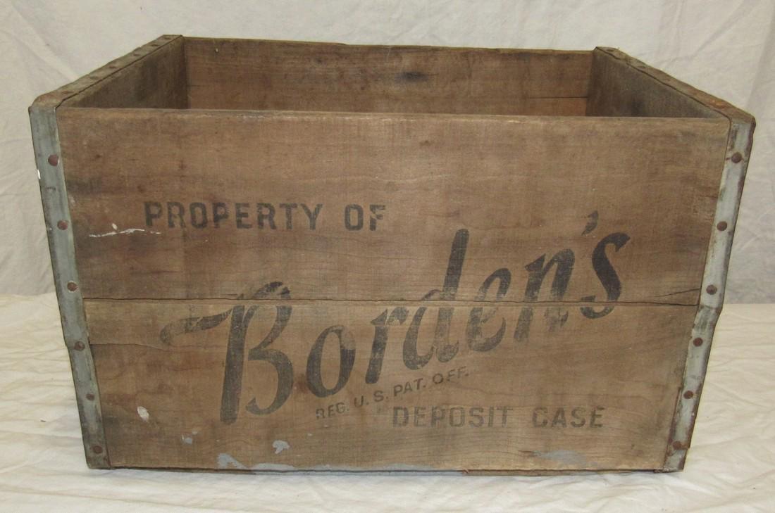 Borden's  Milk Crate
