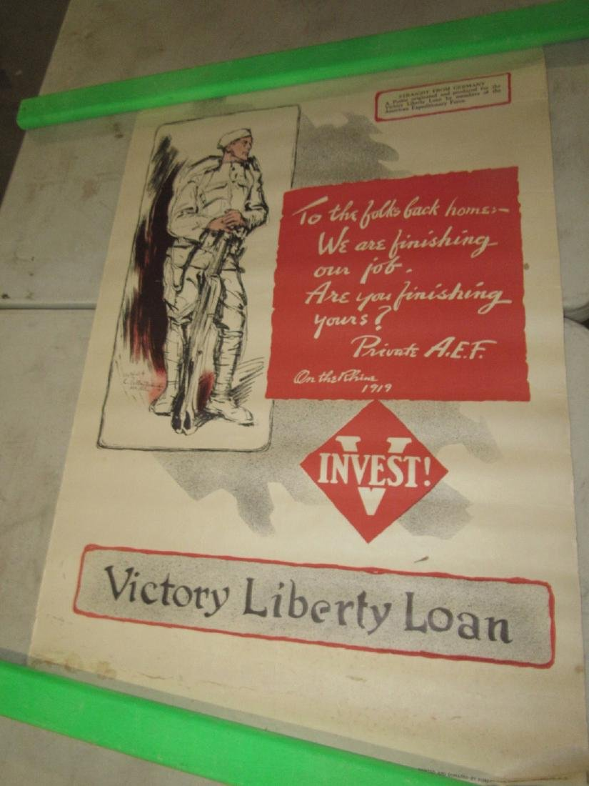 Victory Liberty Loans Poster