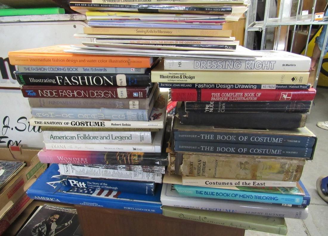 Lot of Fashion Books