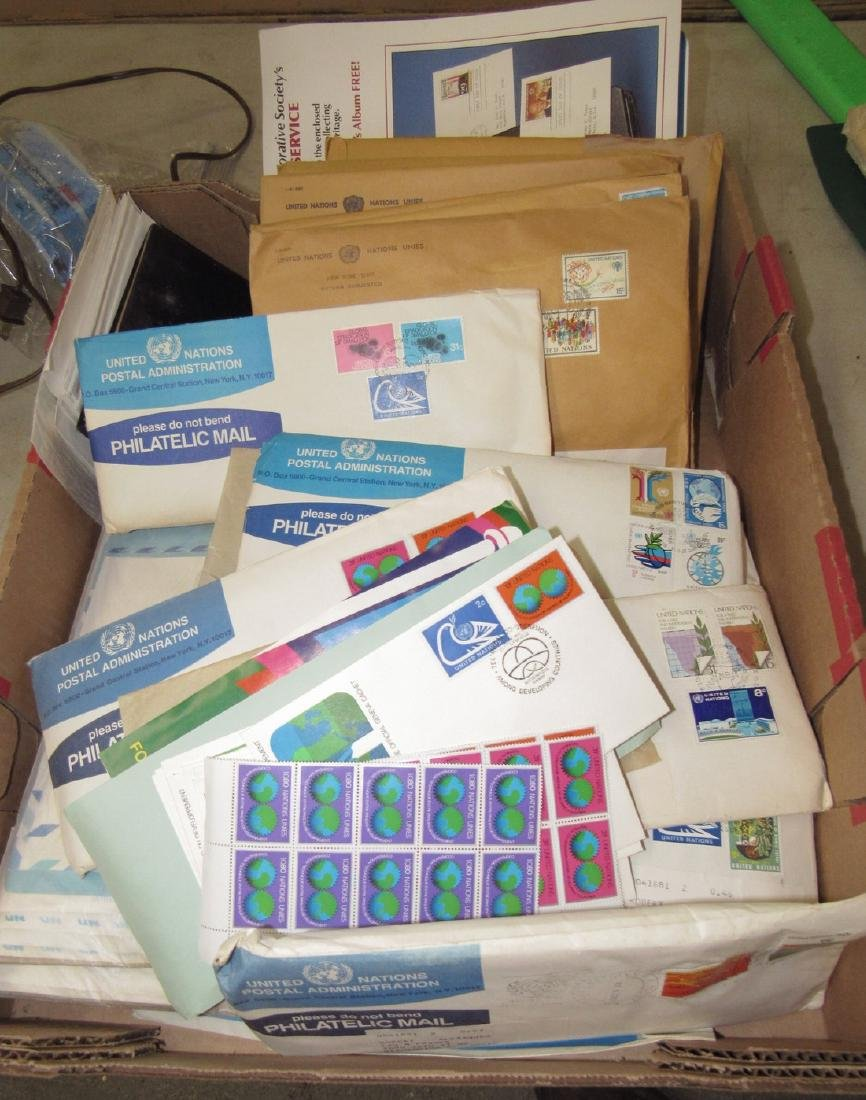 Large Lot of United Nations Stamps