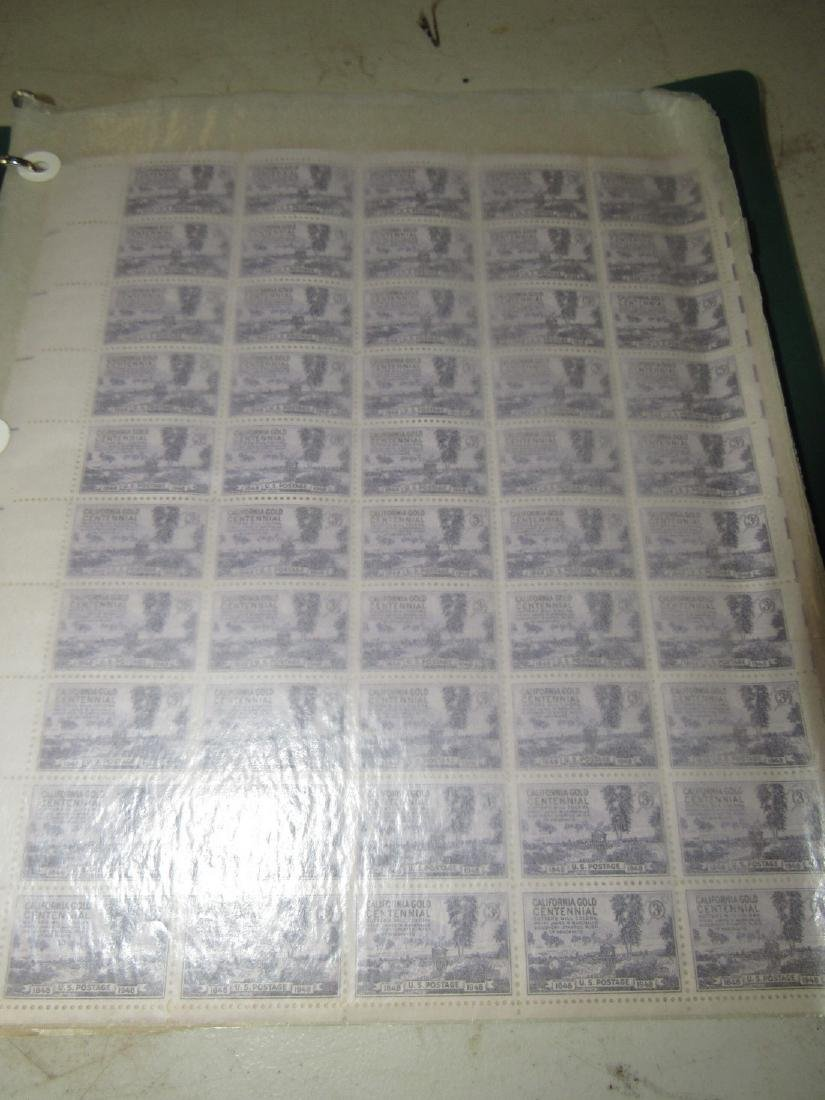 Stamp Album with Misc Stamps & First Day Issues