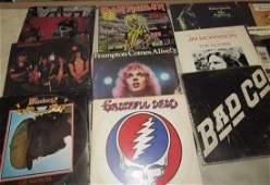 Iron Maiden Grateful Dead Black Sabbath AC/DC Records