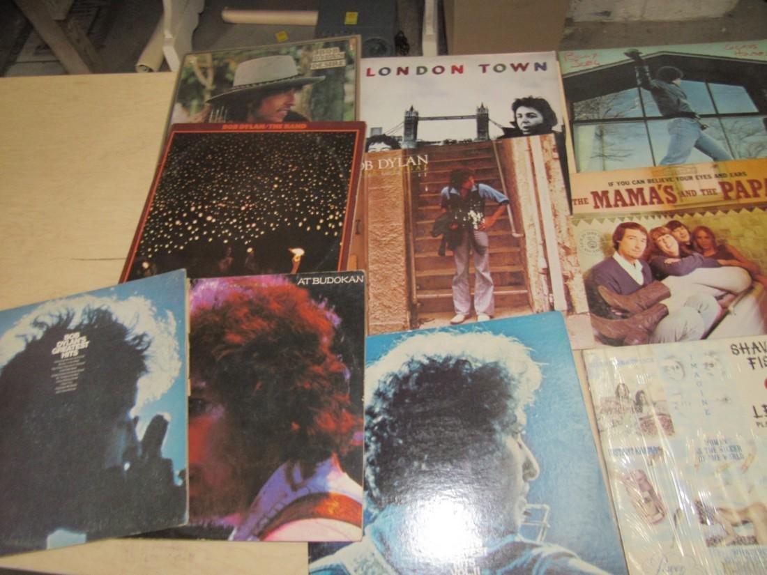 Bruce Springsteen Billy Joel Bob Dylan Records