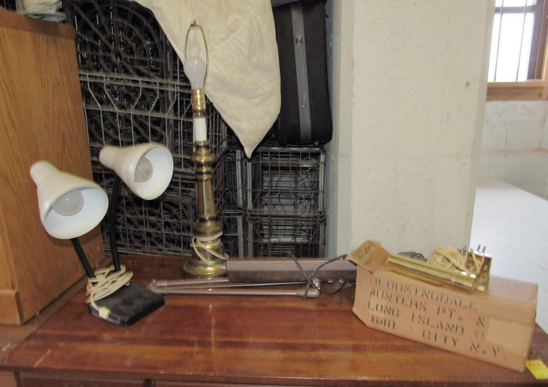 Industrial Drafting Table & Desk Table Lamps