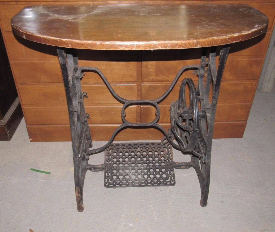 Goodrich Cast Iron Sewing Machine Table Legs