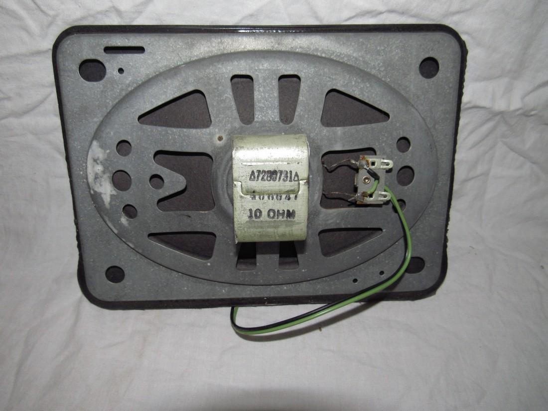 Chevrolet Push Button Corvair Radio & Speaker 9868864 - 6