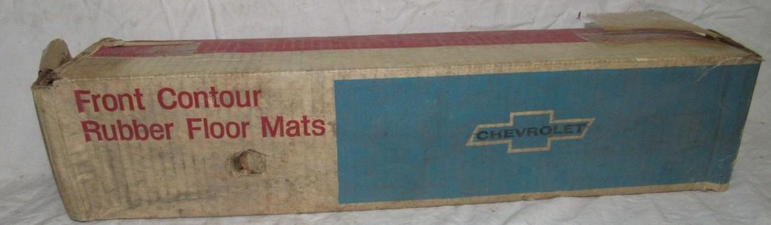 New Old Stock Chevrolet Corvair Front Floor Mats