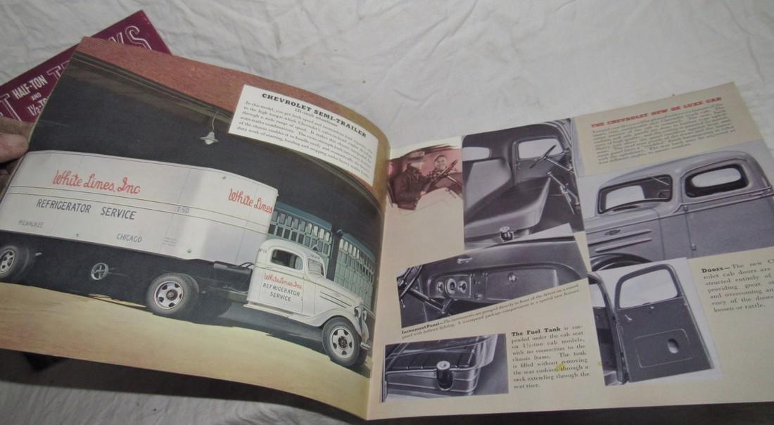 2 Chevrolet Half Ton & 1 1/2 Ton Truck Brochures - 2