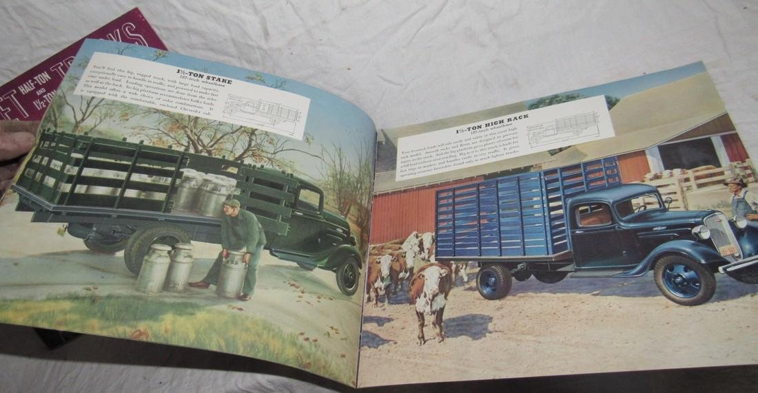 2 Chevrolet Half Ton & 1 1/2 Ton Truck Brochures - 3