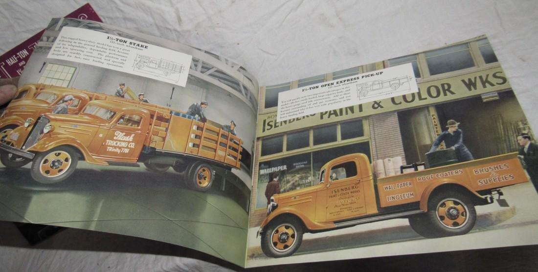 2 Chevrolet Half Ton & 1 1/2 Ton Truck Brochures - 4
