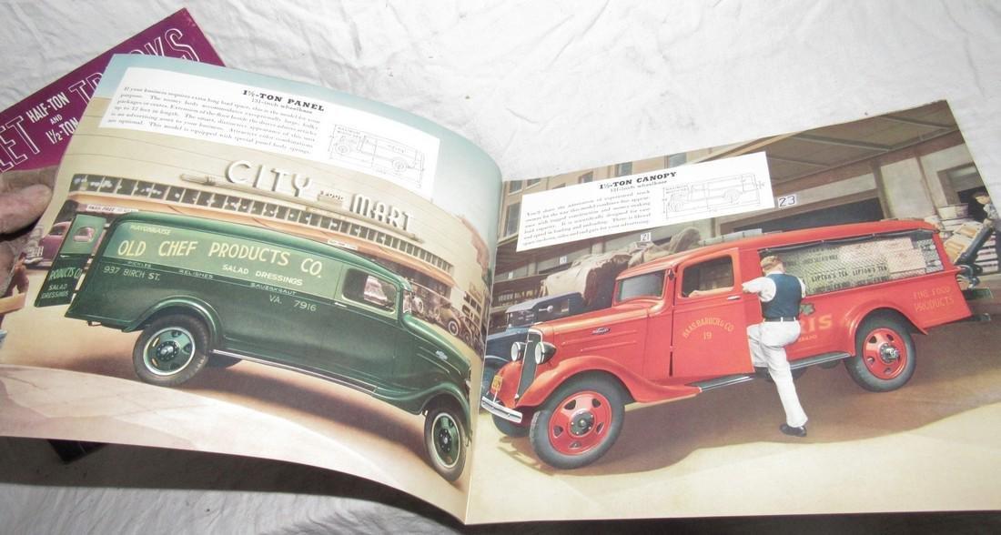2 Chevrolet Half Ton & 1 1/2 Ton Truck Brochures - 5