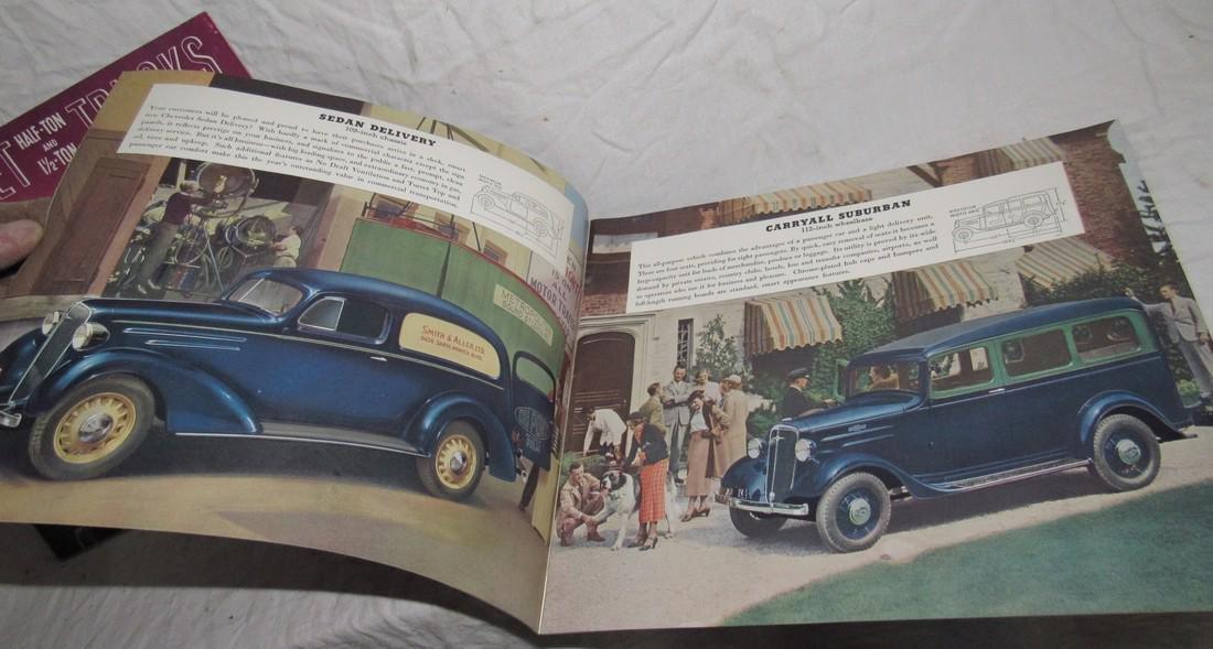 2 Chevrolet Half Ton & 1 1/2 Ton Truck Brochures - 6