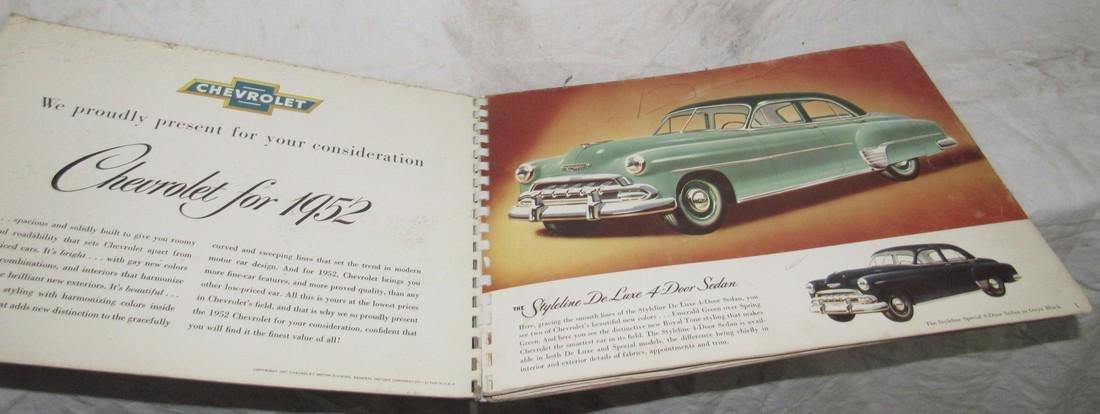 1952 Chevrolet Catalog - 2