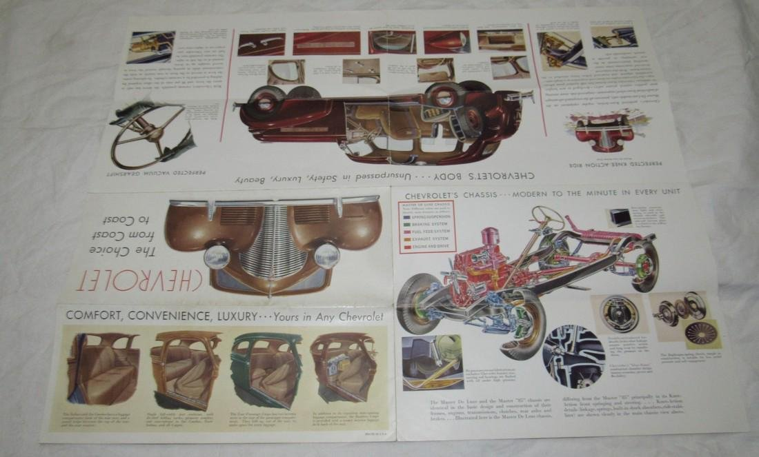 1939 Chevrolet Fold Out Brochure - 3