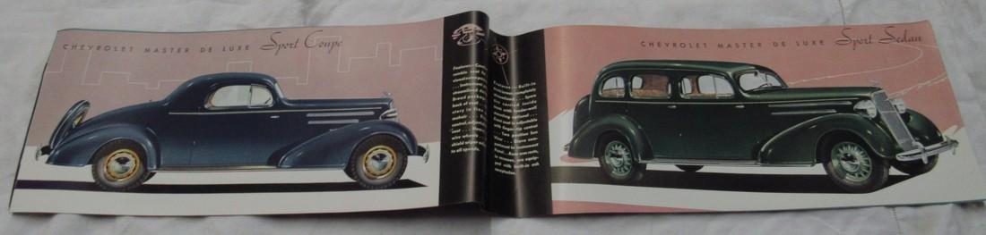 1935 Chevrolet Car Sales Brochure - 2
