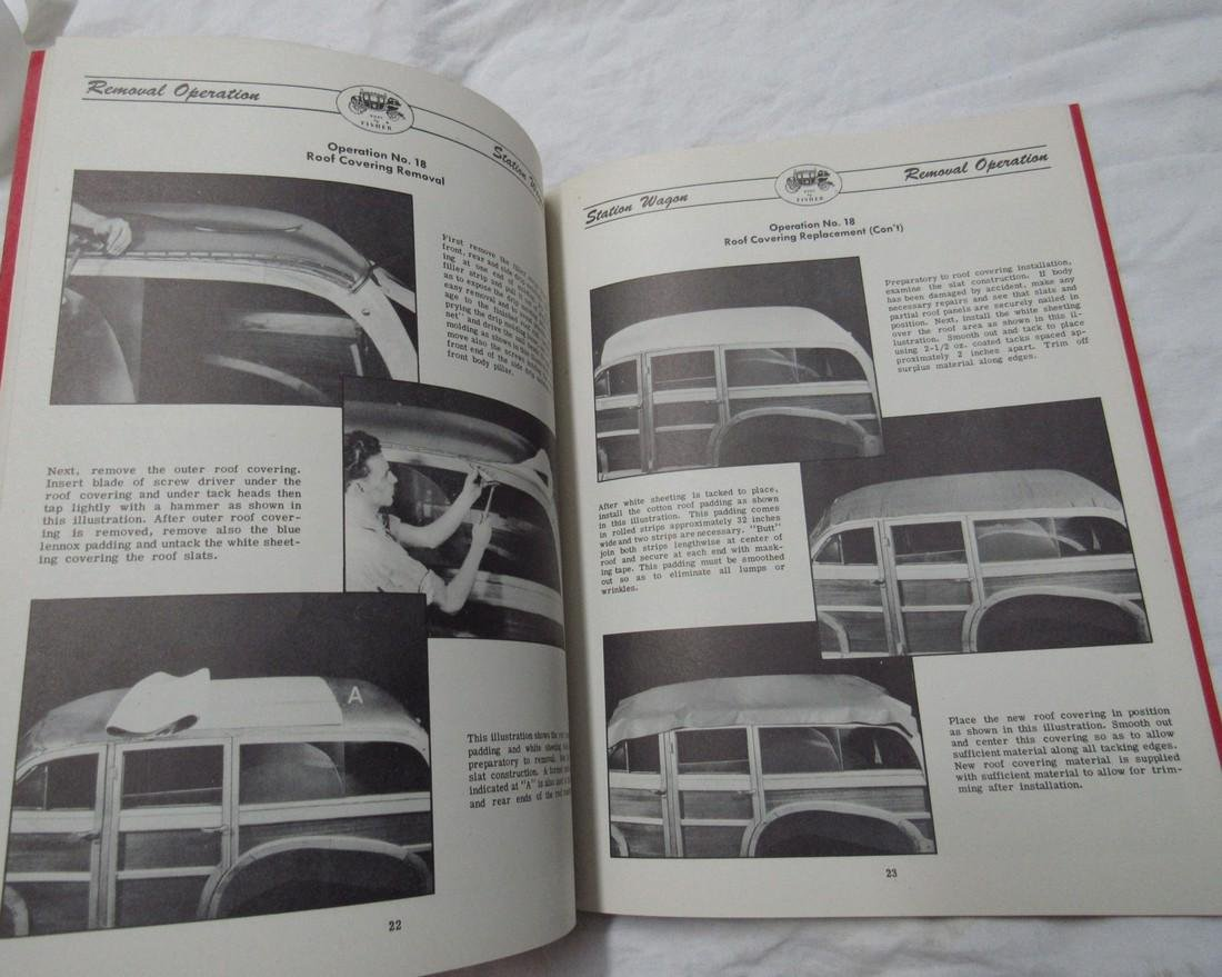 1948 Fisher Station Wagon Body Manual - 3