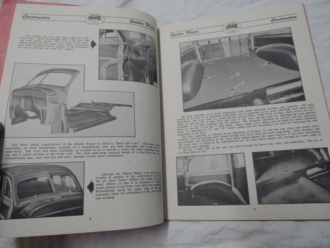 1948 Fisher Station Wagon Body Manual - 4