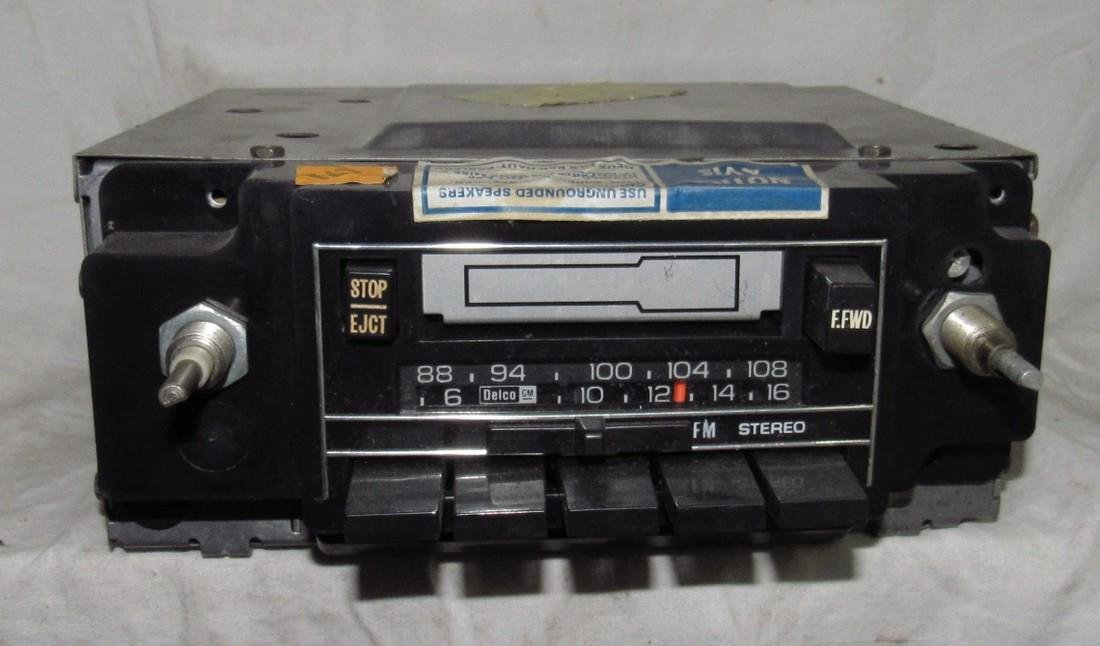 Delco Car Radio w/ Cassette Deck