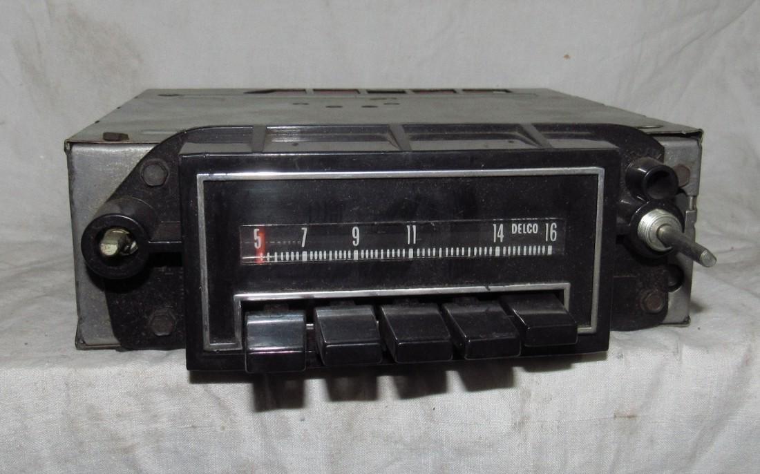 Delco 21HPB2 AM Car Radio