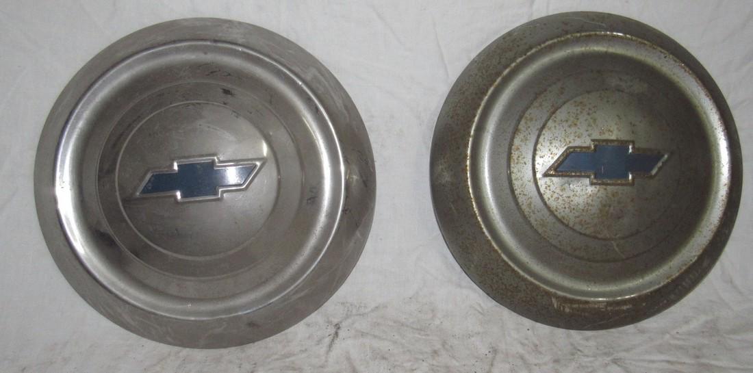 2 Chevrolet Hubcaps