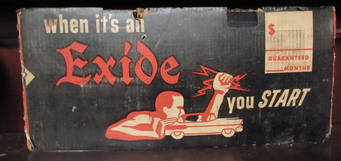 Exide New Old Stock Battery
