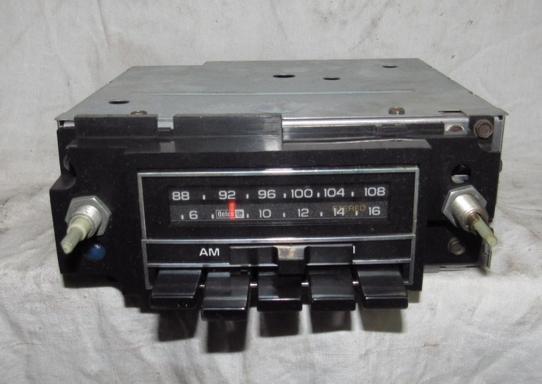 Delco 70AFM1 Car Radio