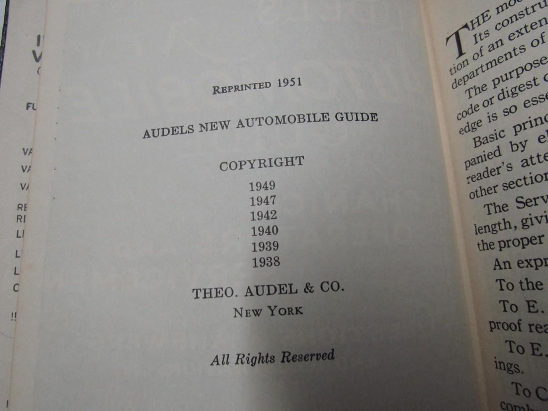 Audels Automobile Guide Book - 4