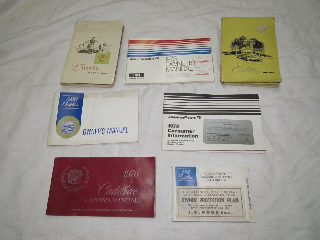 Cadillac & American Motors Manuals