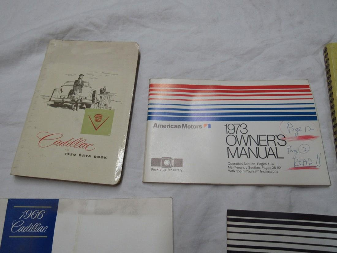 Cadillac & American Motors Manuals - 2