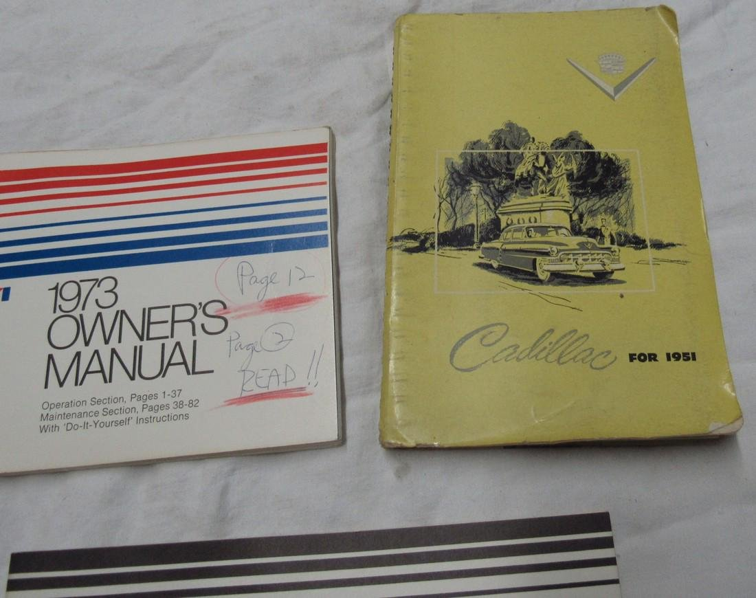 Cadillac & American Motors Manuals - 3