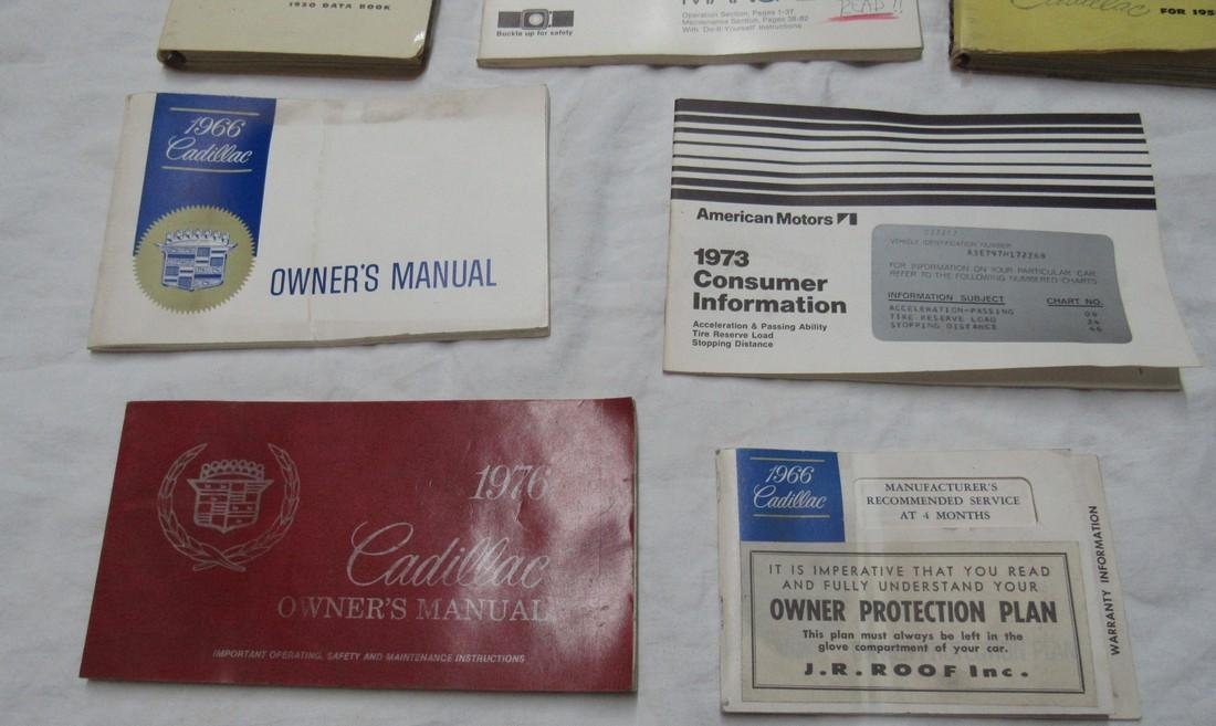 Cadillac & American Motors Manuals - 4