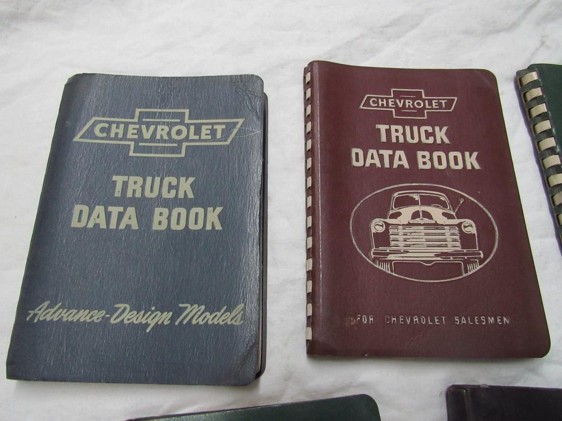 Chevrolet Data Books & Poster - 2