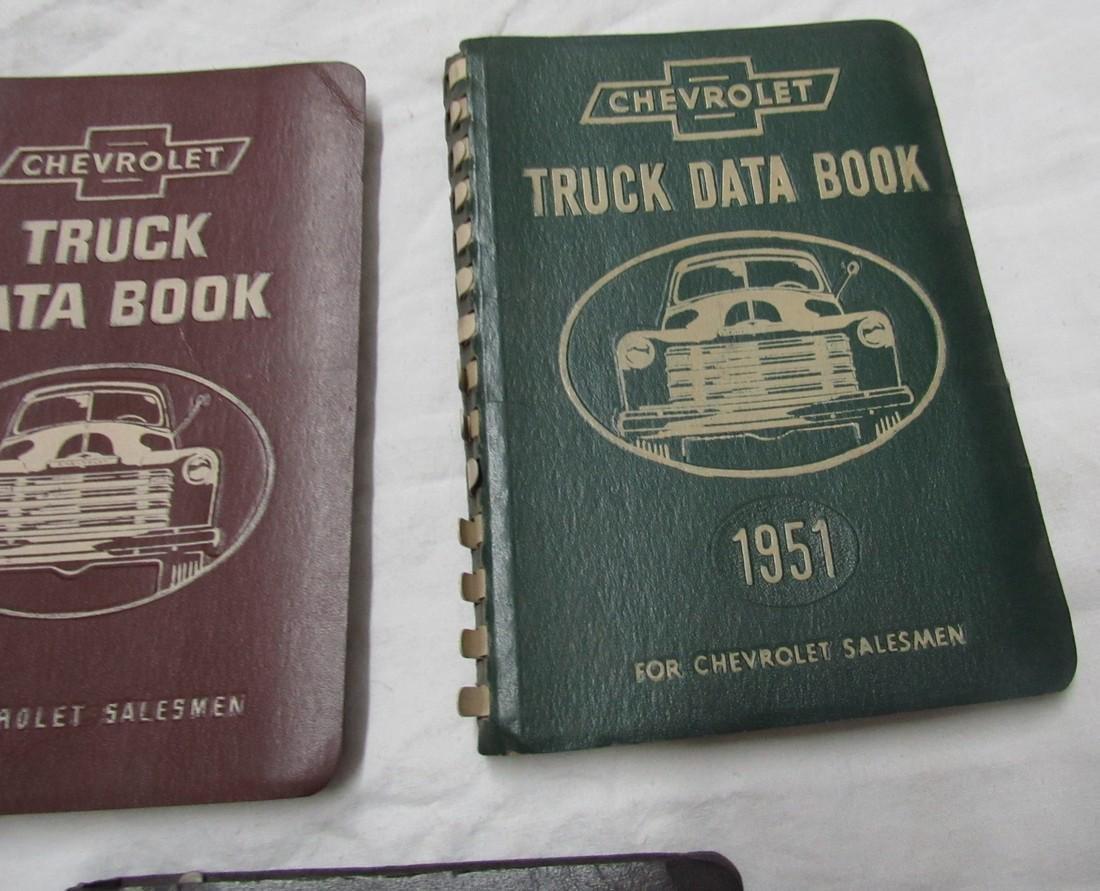 Chevrolet Data Books & Poster - 3