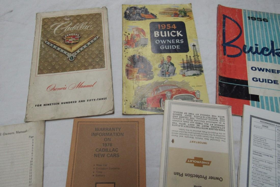 Plymouth Ford Desoto Buick Cadillac Chevy Manuals - 2