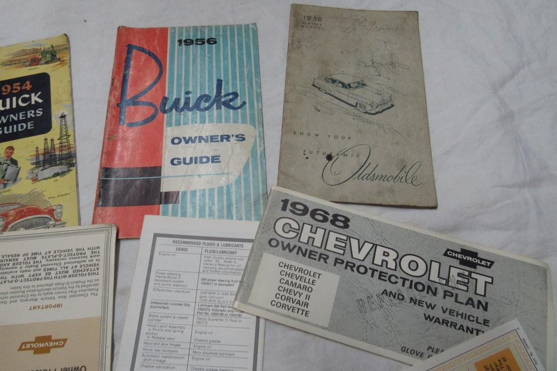 Plymouth Ford Desoto Buick Cadillac Chevy Manuals - 3