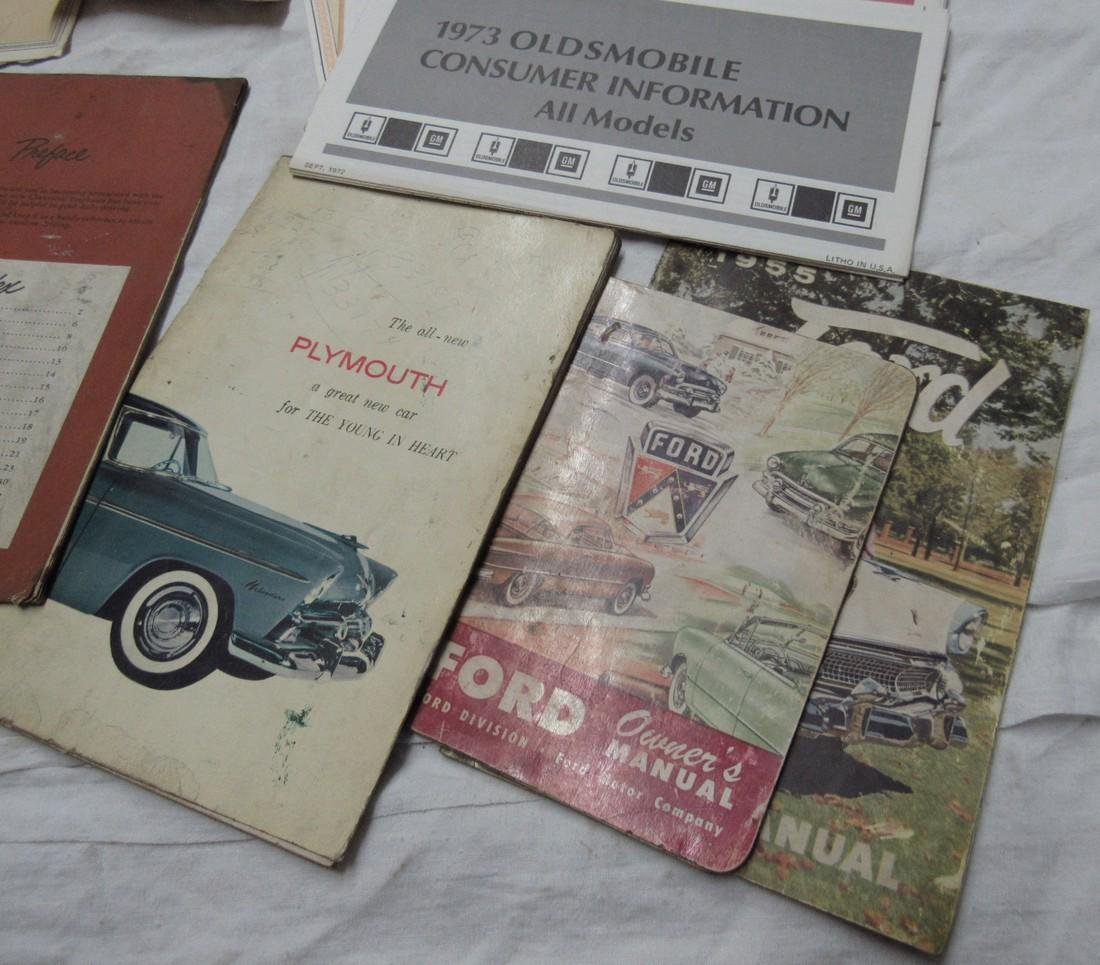 Plymouth Ford Desoto Buick Cadillac Chevy Manuals - 7