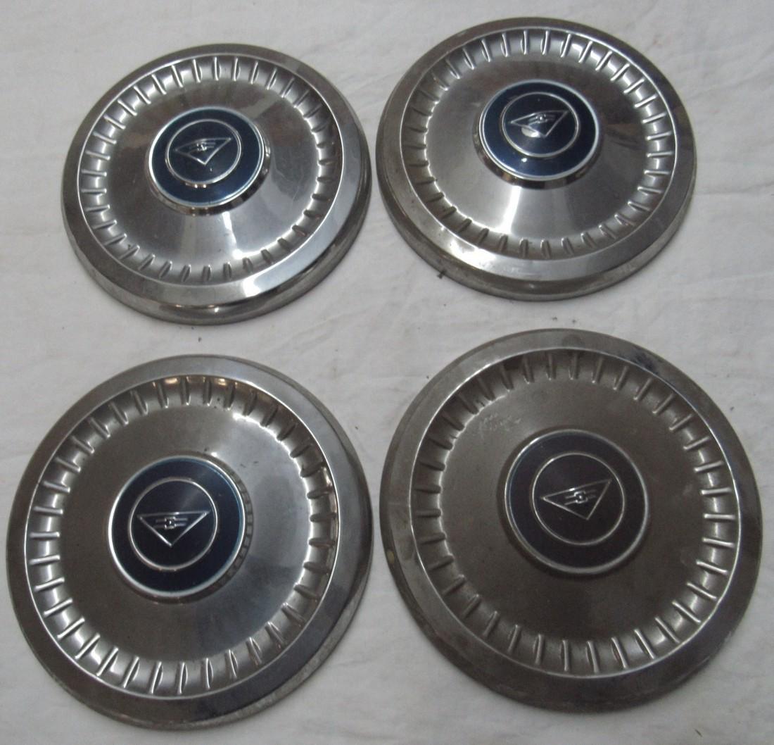 Set of 4 Chevrolet Hubcaps