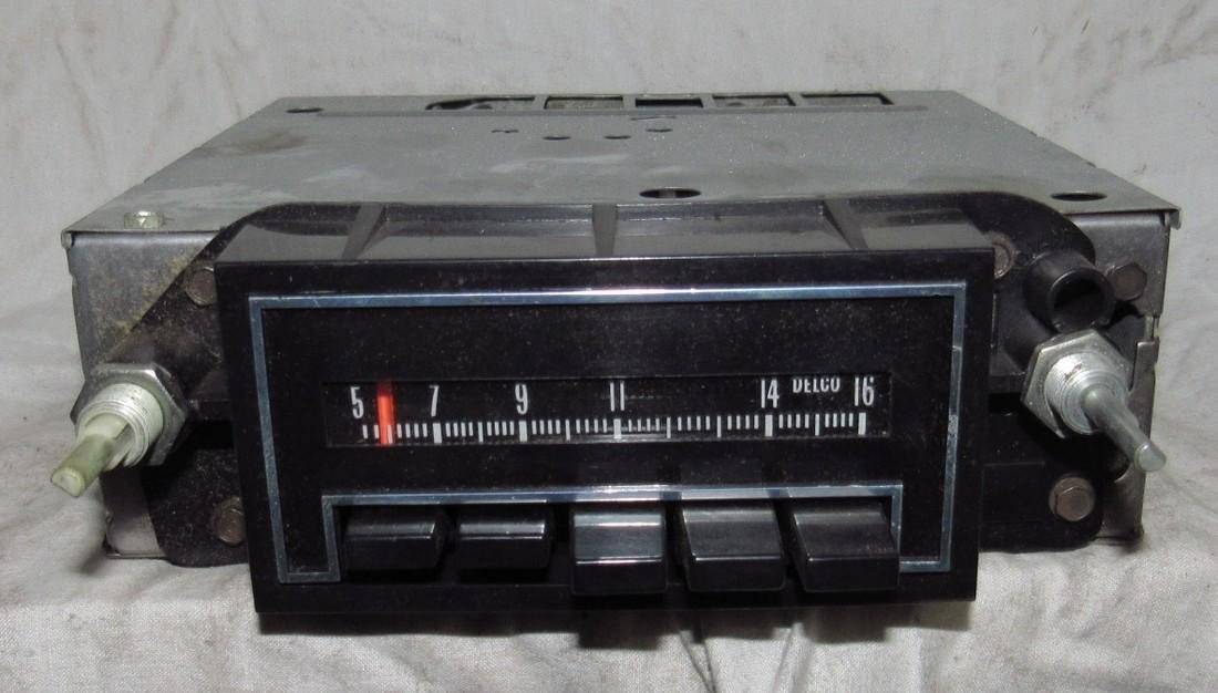 Delco 41APB1 Car Radio