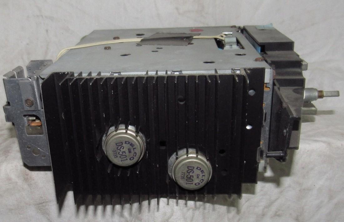 General Motors Car Radio Model # GMCCAD-SS - 3