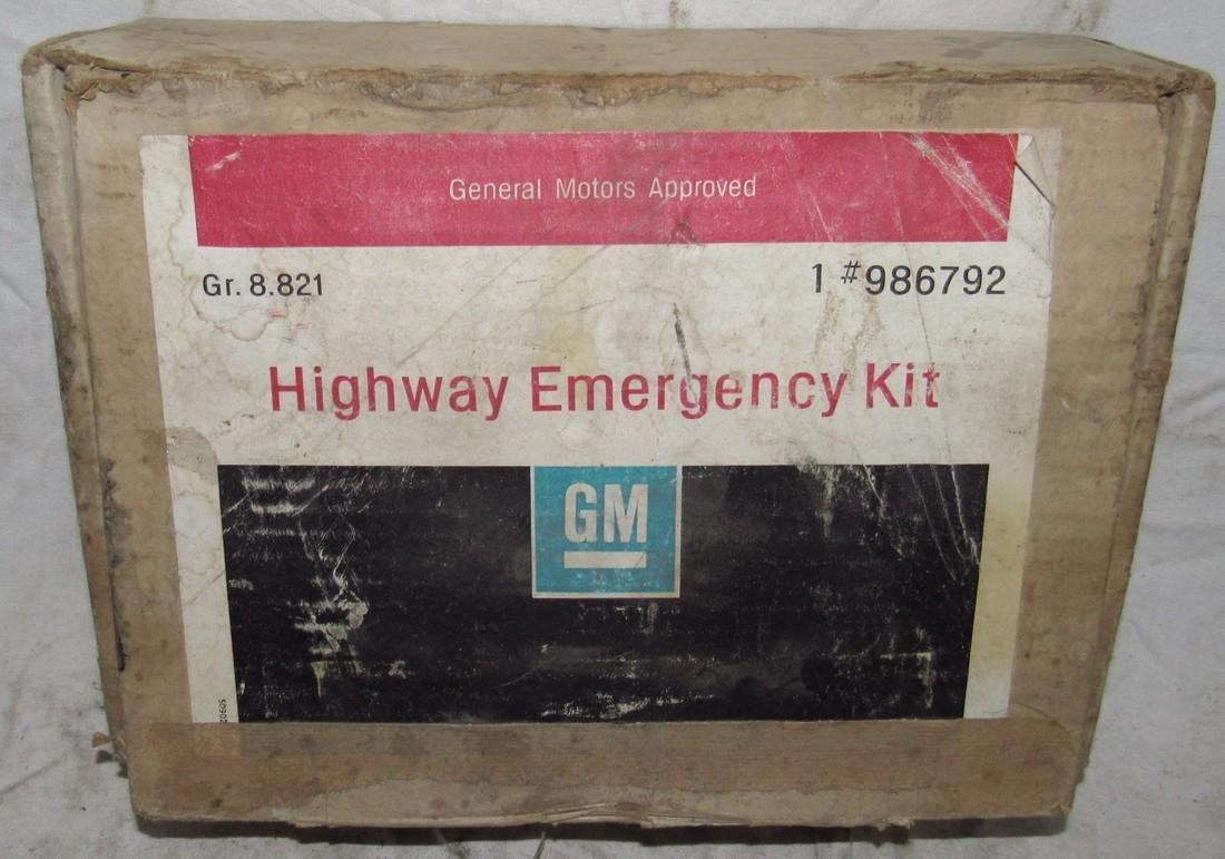 General Motors Highway Emergency Kit