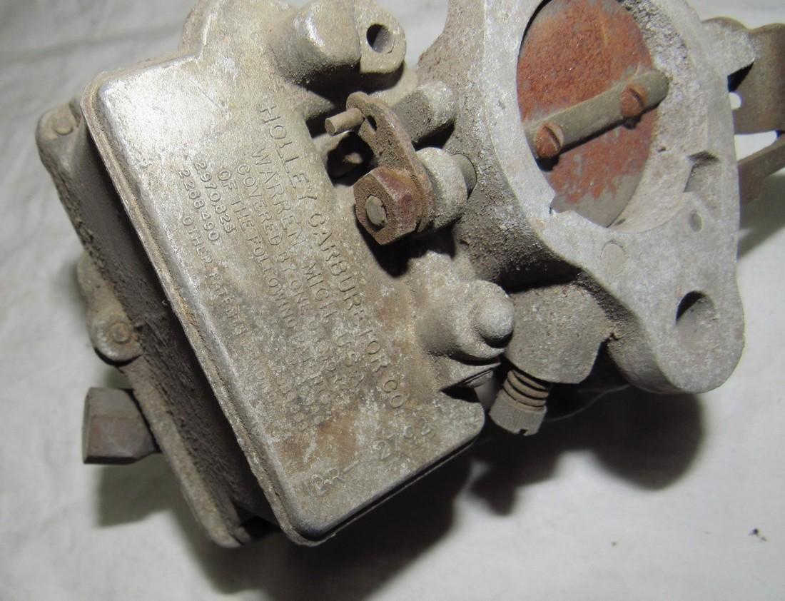 Holley Single Barrel Carburetor - 5