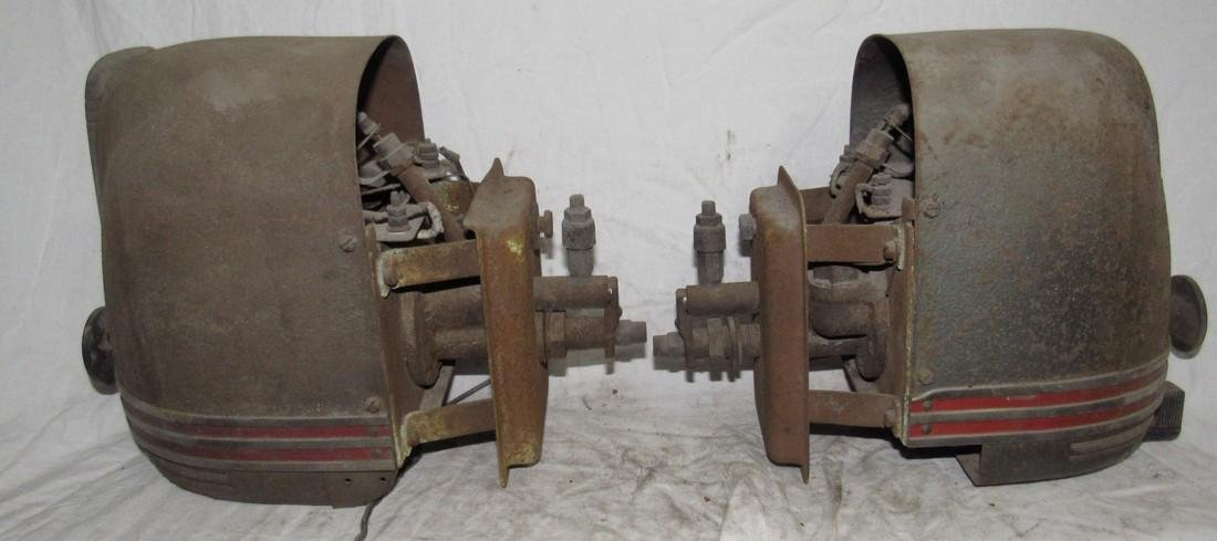 2 Stewart Warner Southwind Car Heaters - 2