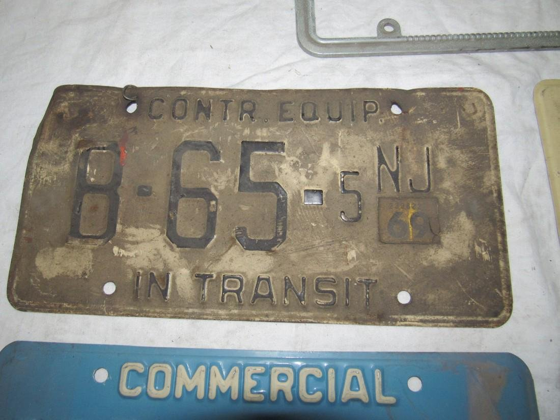 Construction Equipment & Commercial License Plates - 2