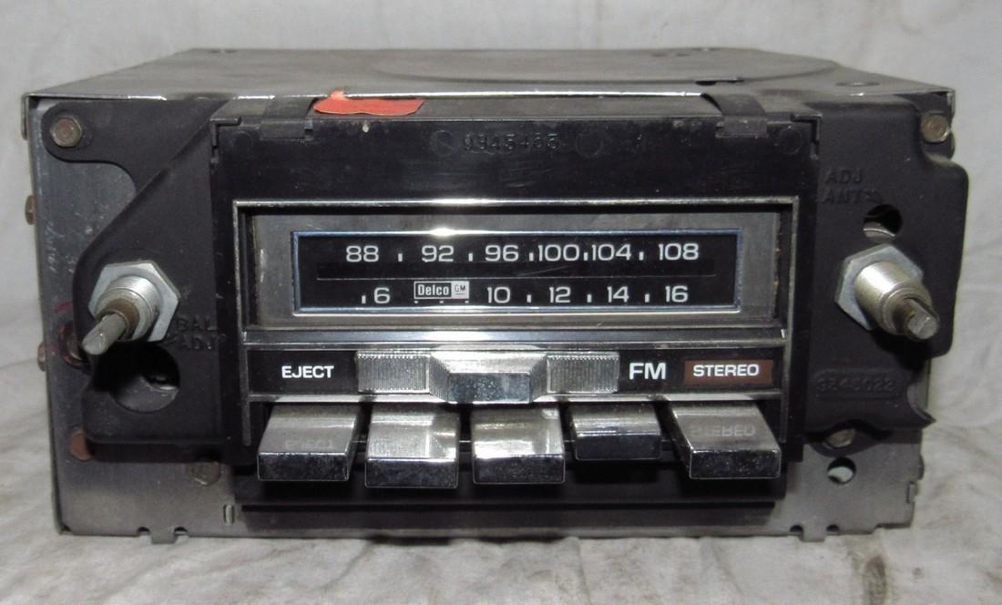 Delco 70AFMT1 Car Radio
